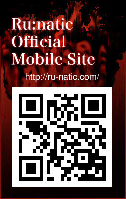 Ru:natic OFFICIAL MOBILE SITE OPEN http://ru-natic.com/mobile/